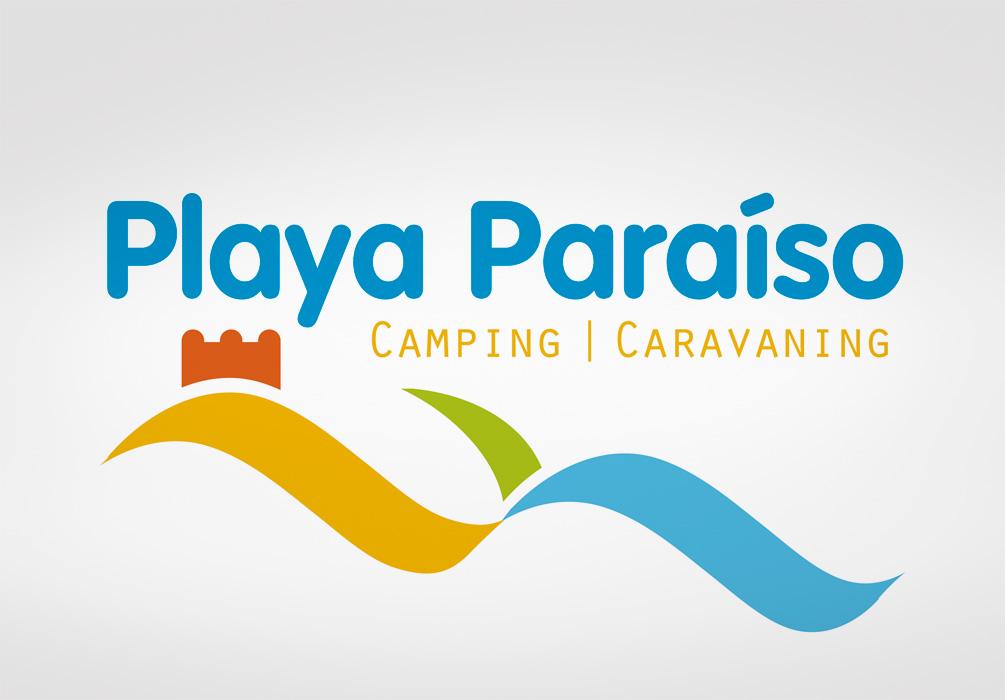 Logotipo Camping Playa Paraíso