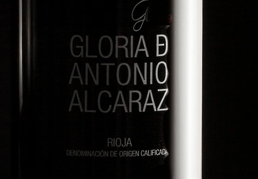 Vino Gloria de Antonio Alcaraz