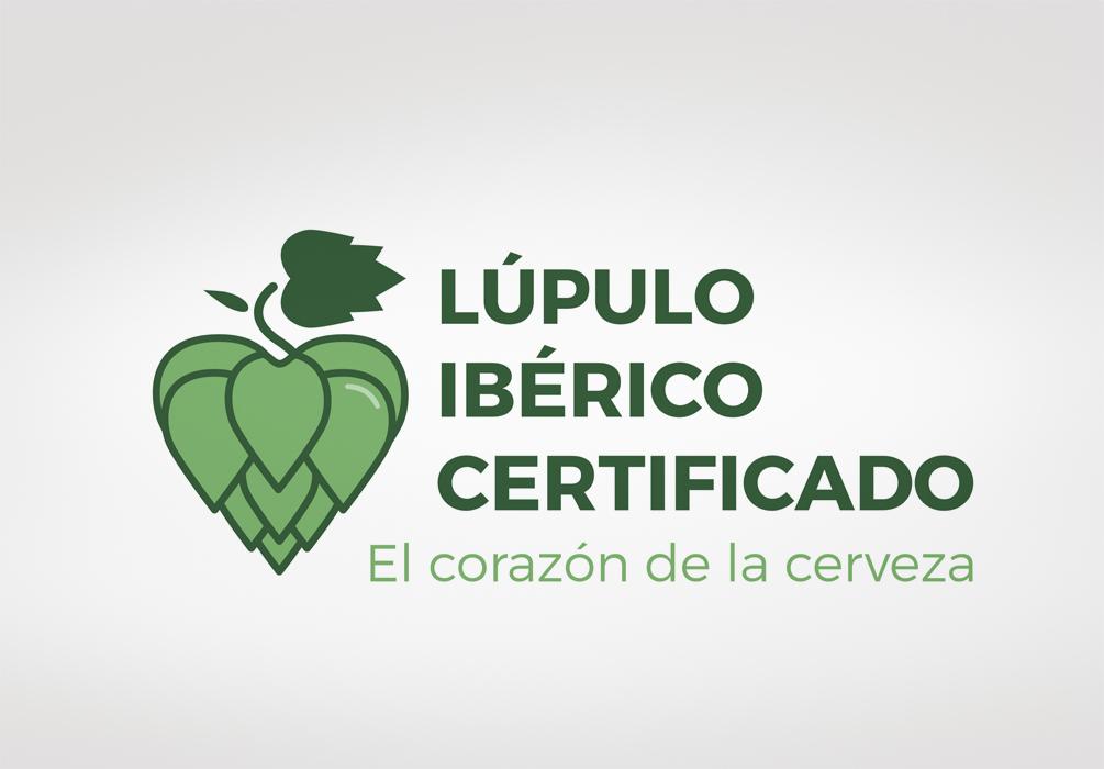 Logotipo Lúpulo Ibérico Certificado