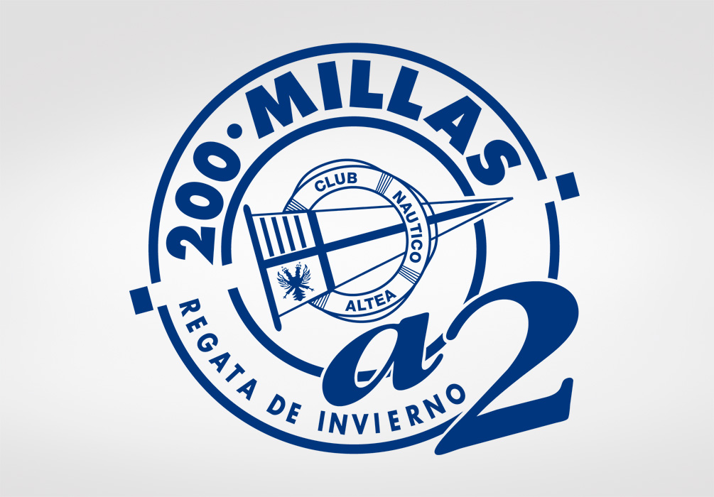 Logotipo 200 millas