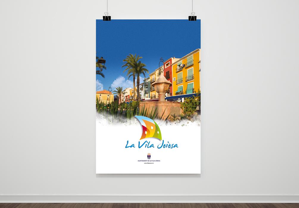 Cartel para el Ayuntamiento de Villajoyosa