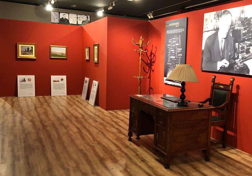 Exposición en Murcia de Azorín