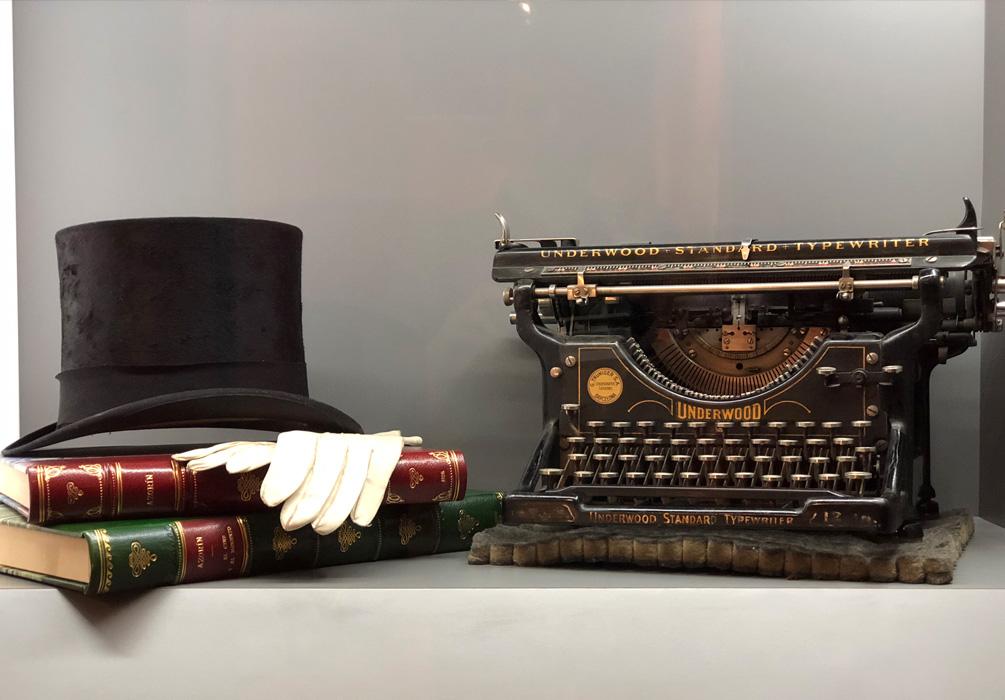 Máquina de escribir de la exposición de Azorín en Murcia
